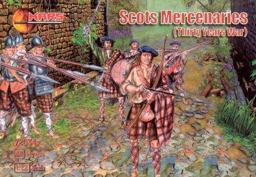 Mars Thirty Years War - 1:72-72034 Scots Mercenaries