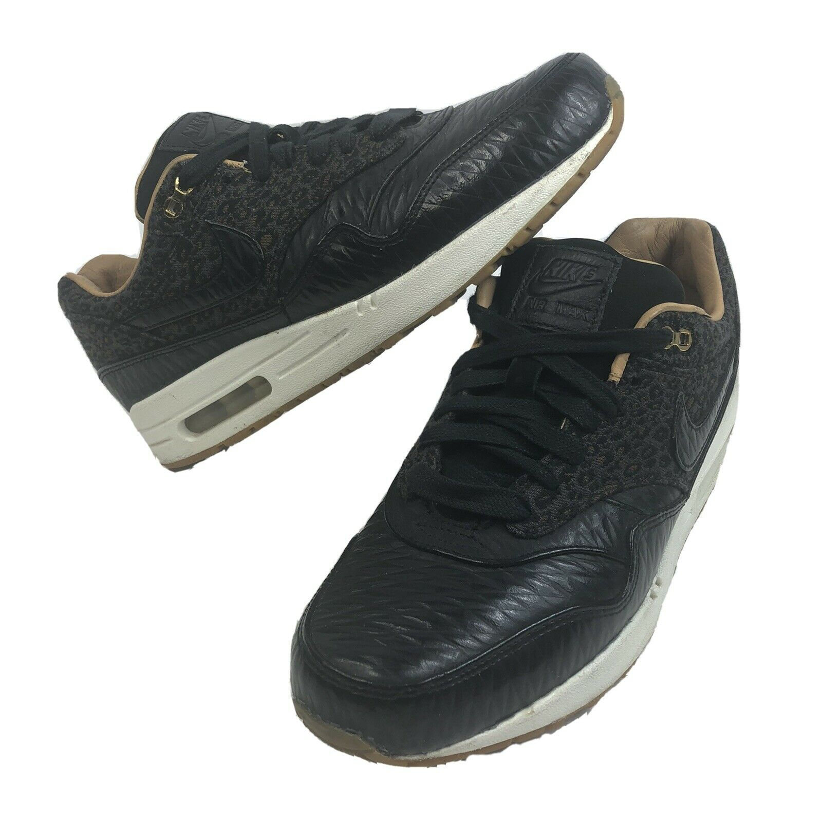 Size 9 - Nike Air Max 1 FB quilted leopard for sale online   eBay