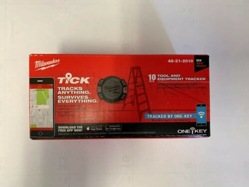 NEUF Pack de 10 Milwaukee 48-21-2010 Tick Tool et équipement Tracker