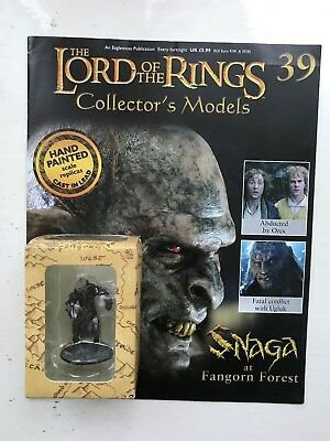 Film, Tv & Videospiele Magazine Hell In Farbe Action- & Spielfiguren Ernst Lord Of The Rings Collection Issue 39 Snaga Orc Eaglemoss Figure