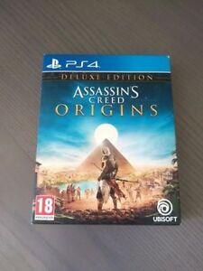 Assassin-039-s-Creed-Origins-Deluxe-Edition-PS4-PARI-AL-NUOVO