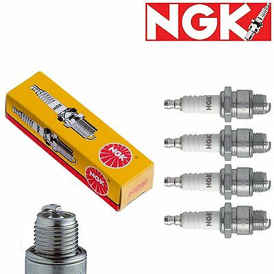 NGK 1034 SPARK PLUGS BP7ES Spark Plugs For Yamaha XV750 Virago Set of 4