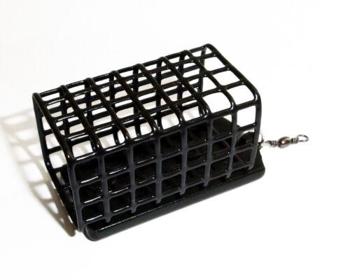Feeder Futterkorb black edition Blei frei viereckig 10-100g lieferbar