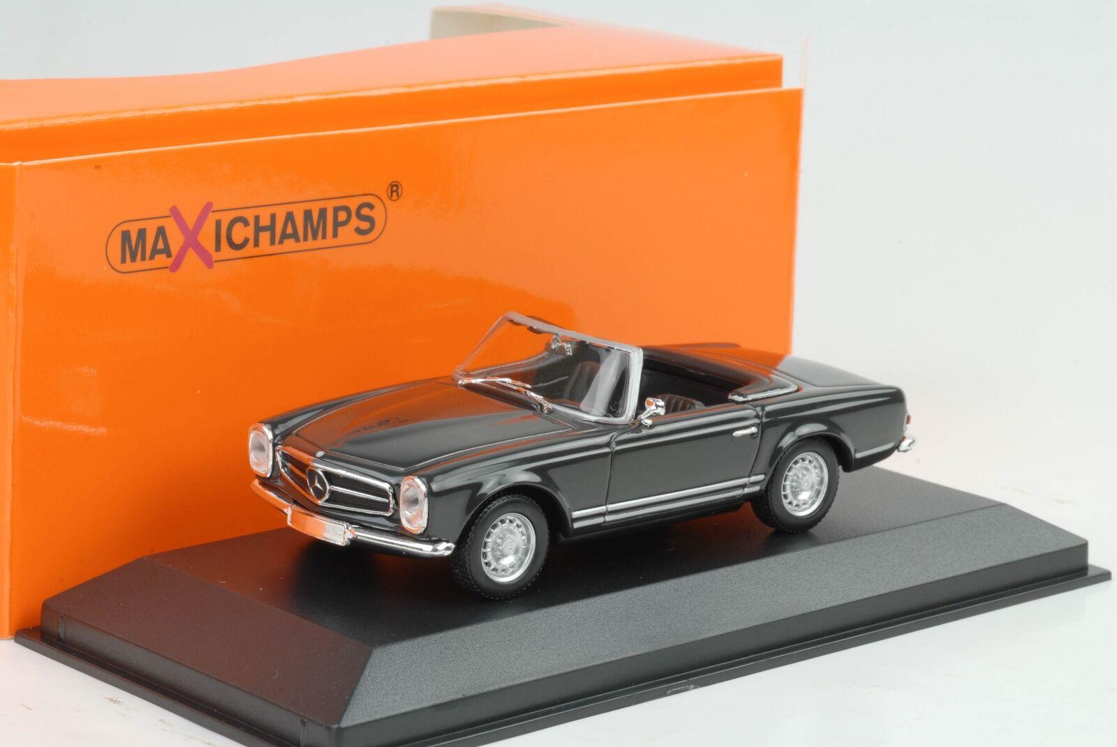 1965 mercedes-benz mercedes-benz mercedes-benz 230 sl w113 gris 1 43 maxichamps Minichamps be5ad9