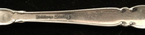 Heirloom Oneida Grandeur Serving Spoon Sterling Silver Flatware
