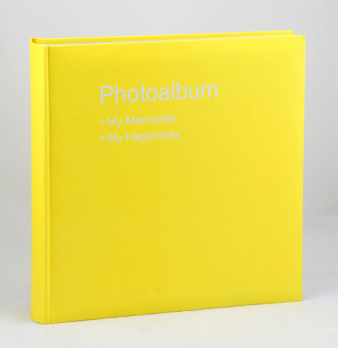 Conception Fotoalbum in 30x30 cm 100 weiße Seiten Jumbo Foto Album Buchalbum
