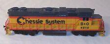 TYCO CHESSIE SYSTEM B& O 4810 DIESEL HOT TRAIN ENGINE SHARP
