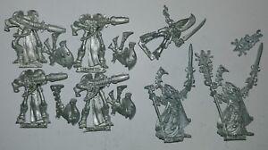 Huge-Multi-listing-Warhammer-40k-Eldar-Wraithguards-Ulthran-Metal-models-OOP