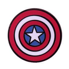 Enamel Lapel Pin Badge Hat Tie Tack UK SELLER 5AA CAPTAIN AMERICA