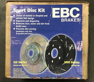 USR850-EBC-Ultimax-Brake-Discs-Front-PAIR-for-MG-ZR-ROVER-HONDA