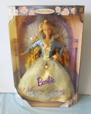 NEVER REMOVED FROM BOX 1998 BARBIE DOLL AS SLEEPING BEAUTY / CHILDREN'S COLL