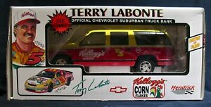 Terry Labonte Chevrolet Suburban Truck Bank New In Box Collector S Edition Coa Ebay