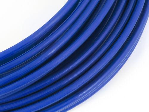 BLU PVC rivestito FUNE acciaio zincato galvanizzato filo metallo corda