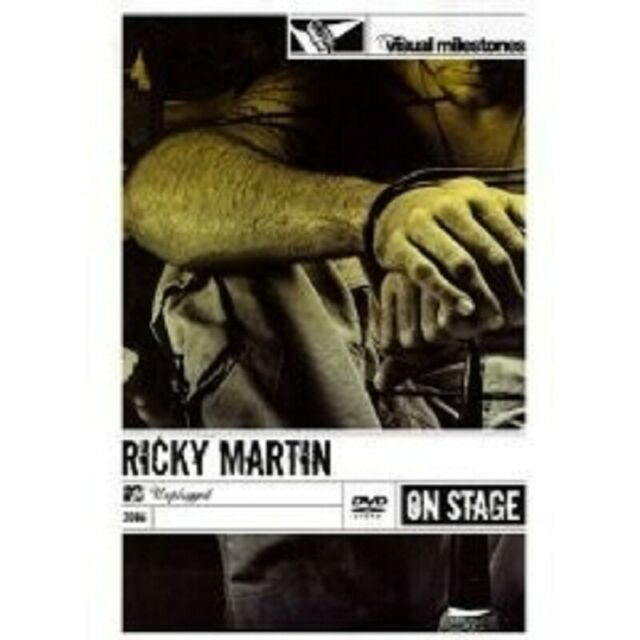 "RICKY MARTIN ""MTV UNPLUGGED"" DVD 12 TRACKS NEW"