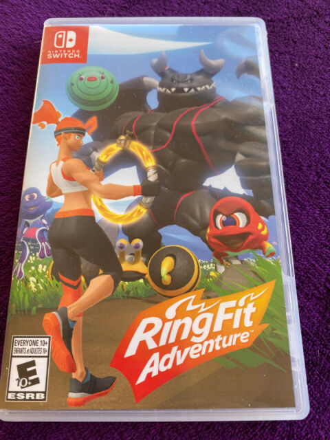 Ring Fit Adventure (Nintendo Switch) EXCELLENT Cartridge. Tested.-  Game Only