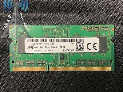 TESTED*AL10218 4GB MT8KTF51264HZ-1G6E1 PC3L-12800S-11-13-B2 Micron