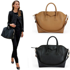 New-Celebrity-Vintage-Tote-Shopping-Bag-Handbag-Shoulder-Bag-Faux-Leather-BP1081