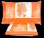 AMBROSIANA-Quick-Completo-letto-Lenzuola-100-Cotone-SHADES-Made-in-Italy