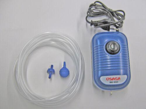 Par Ventilateur Set 1 mk9501 pompe à air à membrane pompe aquarium 2 W réglables Osaga