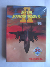 Sealed Vintage F-15 Strike Eagle II (PC, 1989) Microprose