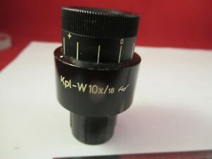 ZEISS-GERMANY-EYEPIECE-OCULAR-464043-OPTICS-MICROSCOPE-PART-AS-PICTURED-amp-39-A-19