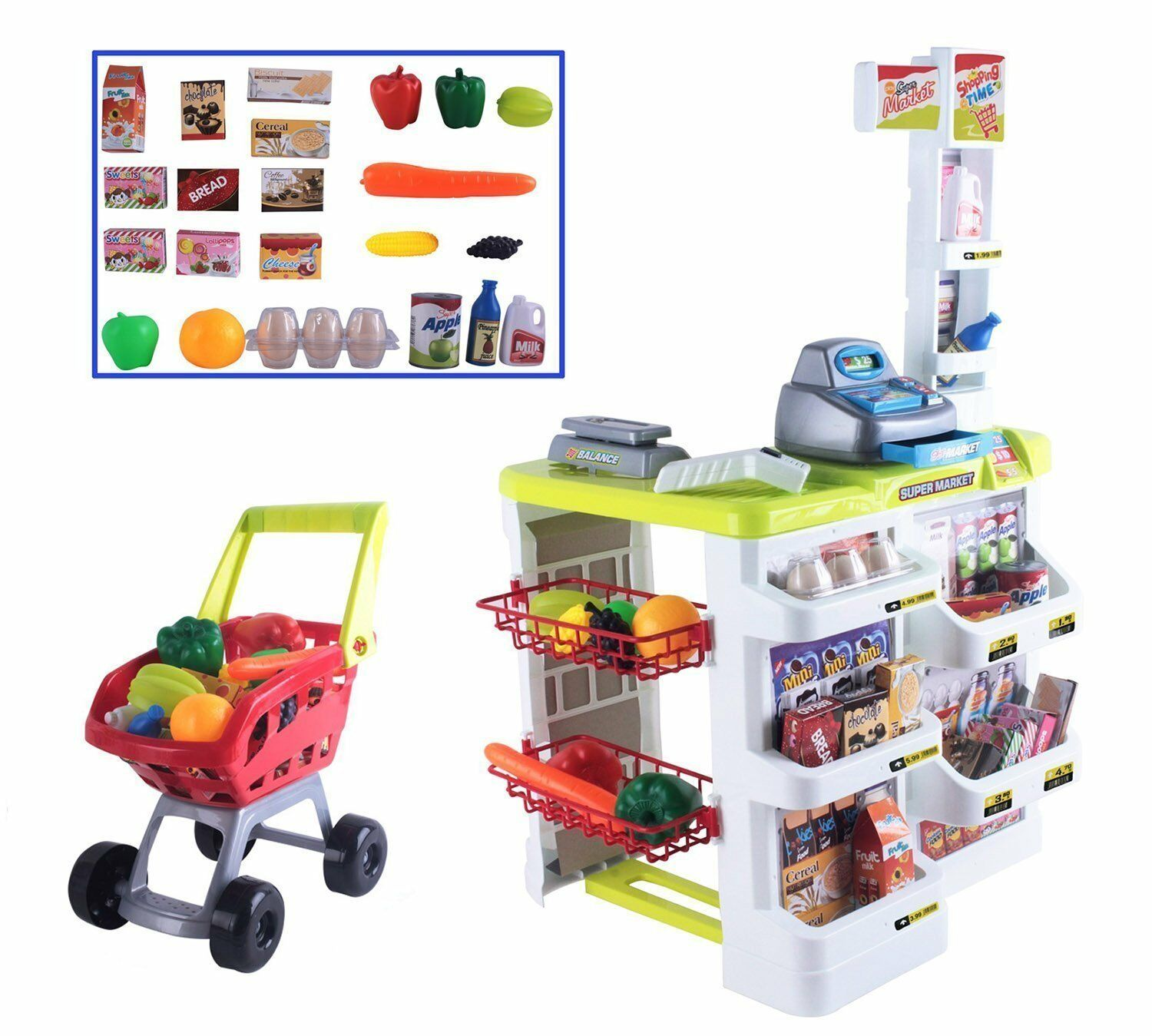 Supermarket Shop Play Set Ideal for Christmas