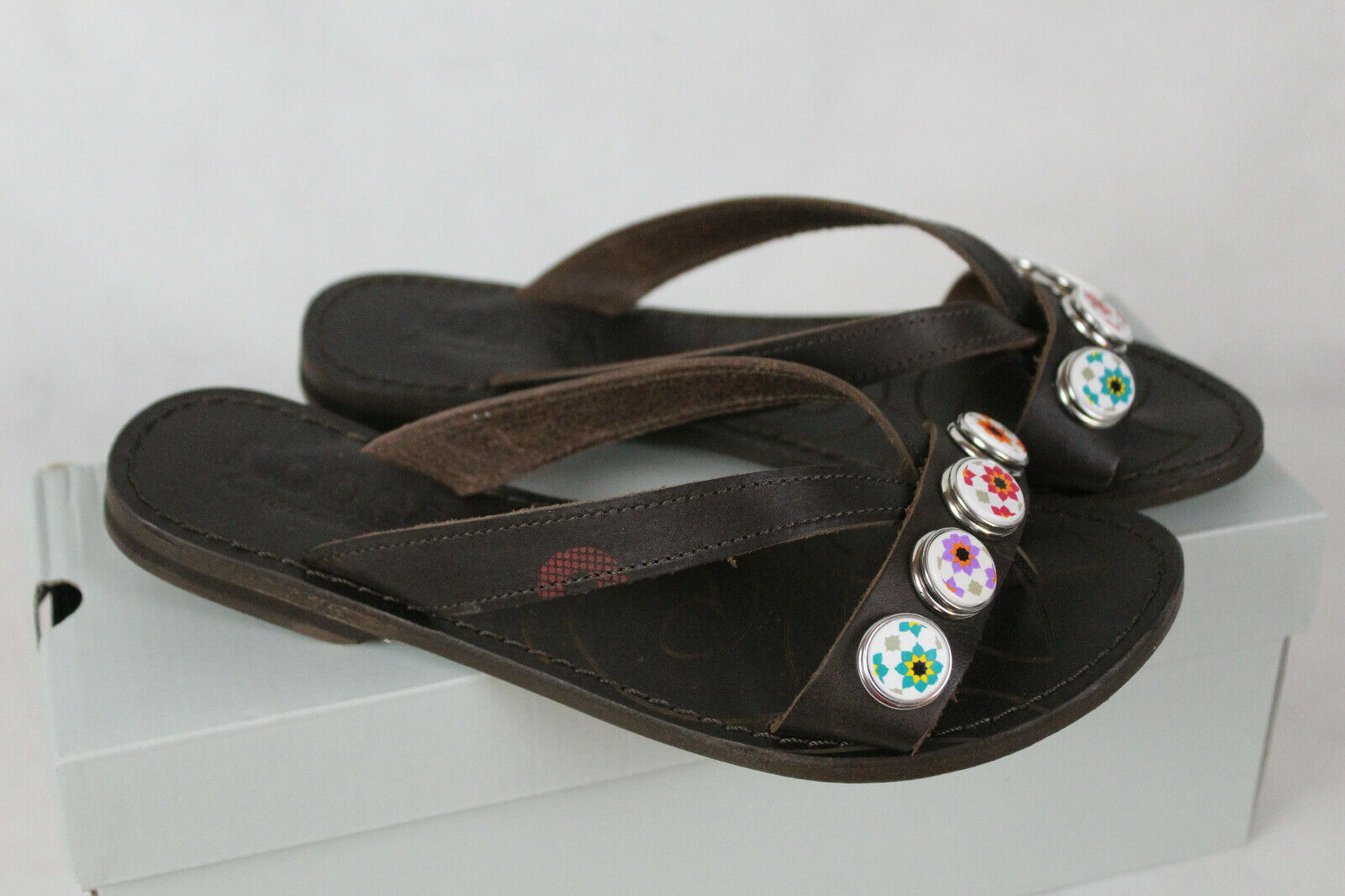 Noosa Description Classic Sandals Toe Separator Womens Size 36 NEW, LP