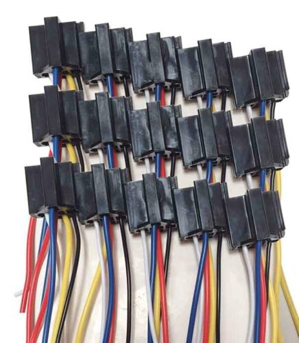 Business  U0026 Industrial New 15pcs Of 5 Pin Cable Wire Relay