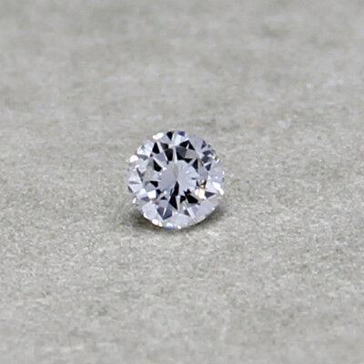 Humorvoll Natürlicher Diamant 0,05ct 2,4mm - 2,5mm G-h / Vs Brillant Rund 2,5 2,6 SchöNe Lustre