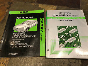 [TVPR_3874]  1992 Toyota Camry Wagon Electrical Wiring Diagrams Service Manual &  Supplement | eBay | 1992 Toyota Camry Wiring Diagram |  | eBay