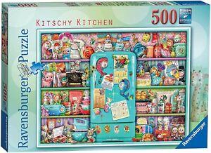 Ravensburger 500 Piece Jigsaw Puzzle Kitschy Kitchen Brand New & Sealed