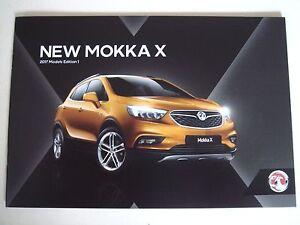 Vauxhall  Mokka  New Mokka X  2017 Models Edition 1 Sales Brochure - Buckinghamshire, United Kingdom - Vauxhall  Mokka  New Mokka X  2017 Models Edition 1 Sales Brochure - Buckinghamshire, United Kingdom