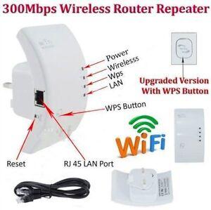 Neu-Wireless-WPS-WLAN-Verst-rker-Wifi-Repeater-300-Mbit-Client-Wifi-Repeater-on