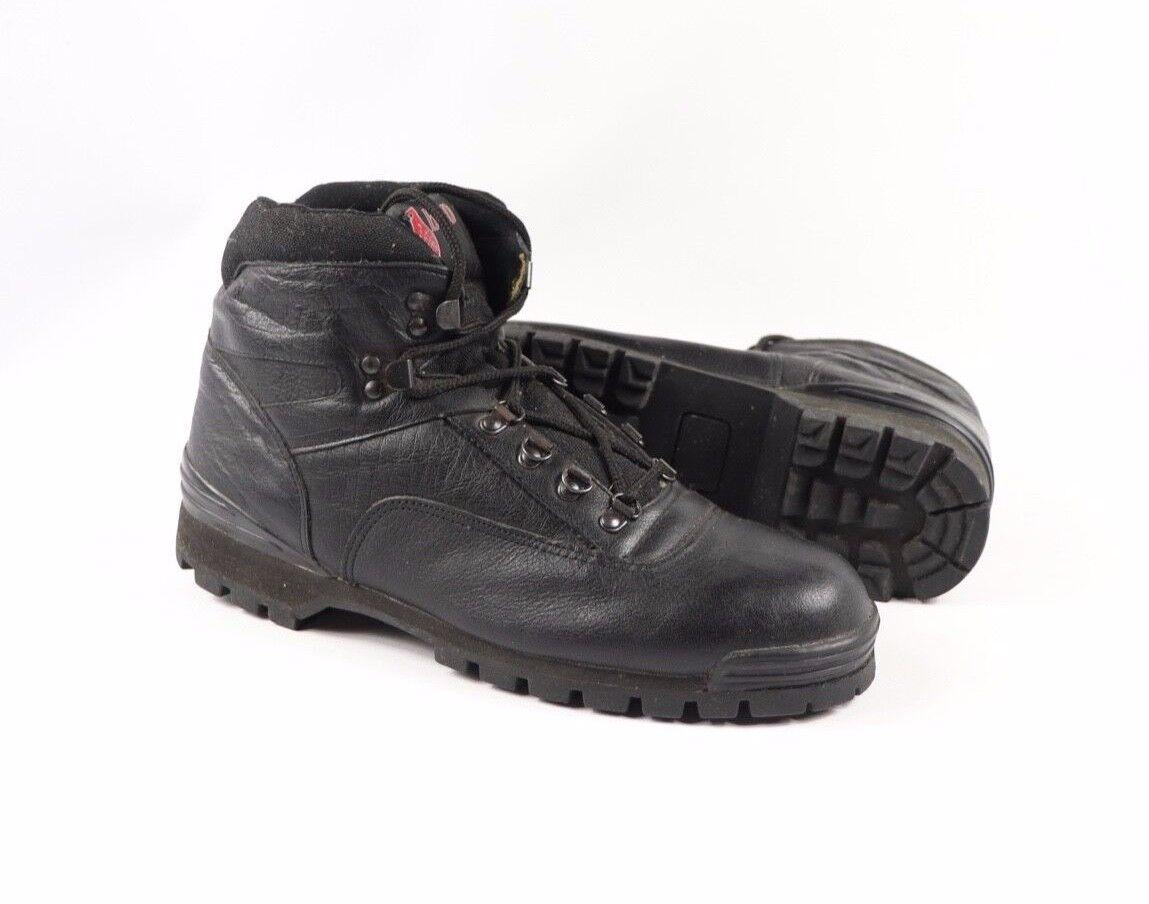 De Colección Nuevo Carolina Mens 10.5 R tobillo botas de trabajo para senderismo para Cuero Negro