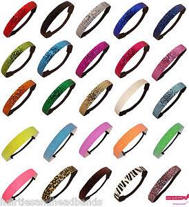 12 Glitter Headband Sports Dance Softball Sparkly Headbands Wholesale Team Packs