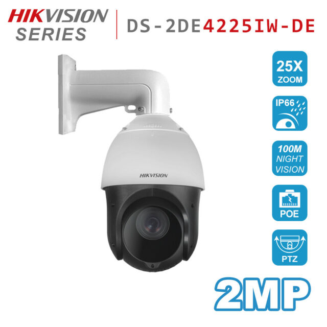 Amcrest UltraHD 4MP POE Outdoor PTZ IP Camera Speed Dome 12x Optical Zoom