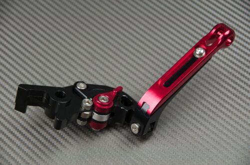 Levier de frein flip-up ajustable repliable CNC noir black BREMBO PR19 19X20