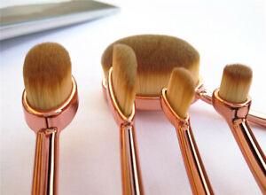 Professionelle-5-tlg-Make-up-Pinsel-Set-Kosmetik-Brush-Makeup-Set-Schminkpinsel