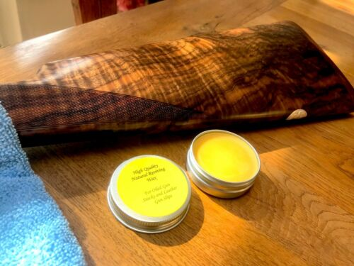 High Quality Reviving Wax for Oiled Gun  Stocks and Leather Gun Slips