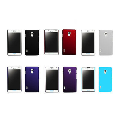 Hard Rubberized Matte Snap-On Slim Cover Case for LG Optimus L7 II P710 P713