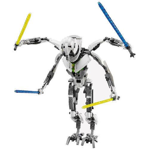 Lego Star Wars 75112 GENERAL GREVIOUS Minifigs Revenge of Sith Obi figure NISB