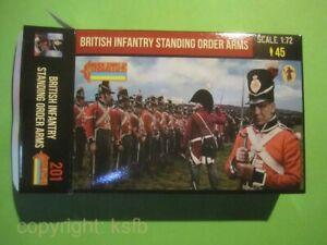 1-72-Strelets-201-Napoleon-Briten-Figuren-Soldaten-Still-gestanden-Armee