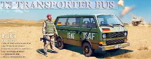 VW T3 BUNDESWEHR BUNDESWEHR BUNDESWEHR TRANSPORTER  + Figurine - KIT TAKOM INTERNATIONAL 1 35 n° 2013 a57d48