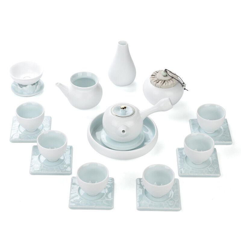 Complet de thé set porcelaine tea-pot tasse soucoupe vase pichet Passoire à thé