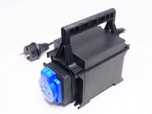 Trenntransformator trenntrafo nel isoliergehäuse 230v//230v 200va strobelt