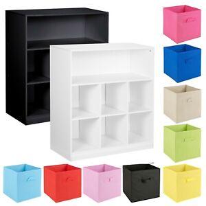 Cubed Bookcase Storage Shelves