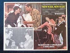 NEW YORK, NEW YORK Robert De Niro Liza Minnelli JAZZ LOBBY CARD N MINT SCORSESE