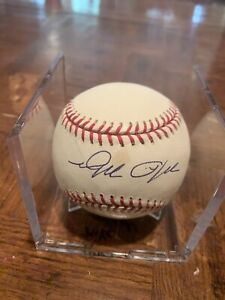 Mike Myers Yankees,Red Sox Marlins Autographed Baseball Cube Included