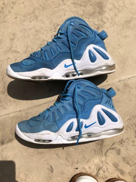 Nike Air Max Uptempo 97 Men's Basketball Shoes Sz 9.5 University Blue