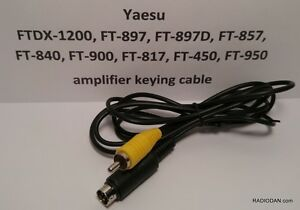 Yaesu-Amplifier-Keying-Cable-FTDX-1200-FT-857-FT-897D-FT-900-FT-840-FT-450-FT950